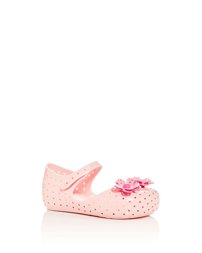 Mini Melissa - Girls' Mini Furadinha XII Mary-Jane Flats - Walker, Toddler