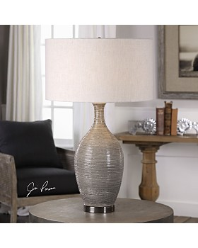 Uttermost - Dinah Gray Textured Table Lamp