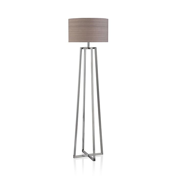 Uttermost - Keokee Polished Nickel Floor Lamp