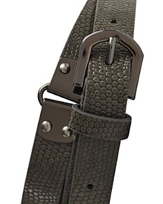 REISS - Lilly Embossed Leather Belt