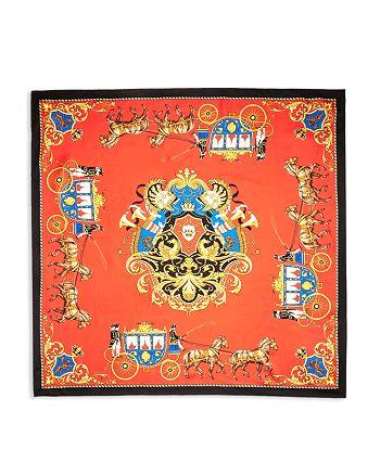 Burberry - Regency Archive Print Silk Scarf