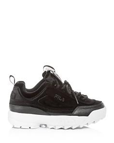 FILA - Women's Disruptor II Premium Low-Top Dad Sneakers