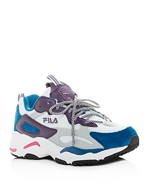 Fila WOMEN'S RAY TRACER LOW-TOP SNEAKERS