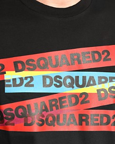 DSQUARED2 - Tape Logo Graphic Tee