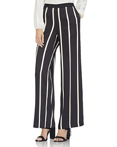 VINCE CAMUTO -  Striped Wide-Leg Pants