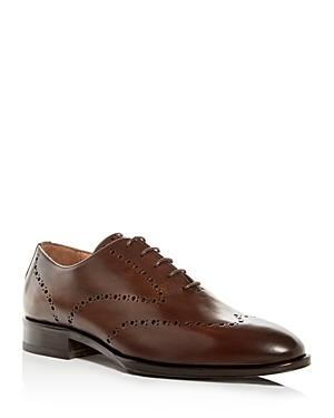 Pastori Men's Augustus Leather Plain-Toe Oxfords