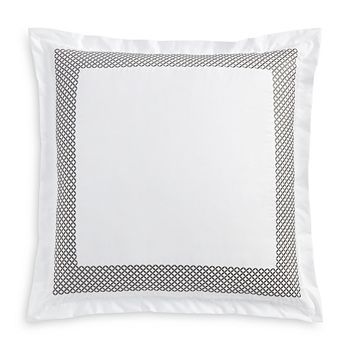 Hudson Park Collection - Embroidered Geo Euro Sham - 100% Exclusive
