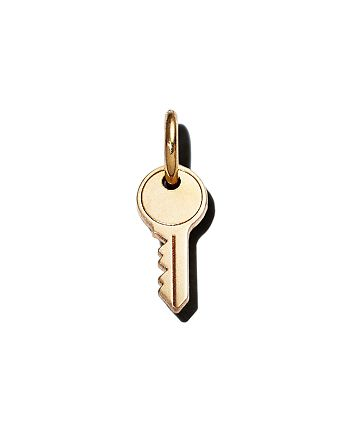 Zoë Chicco - 14K Yellow Gold Midi Bitty Key Charm