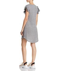 CHASER - Flutter-Sleeve T-Shirt Dress