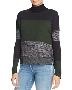 rag & bone/Jean Bowery Striped Turtleneck Sweater