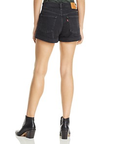 Levi's - Denim Mom Shorts in For The Record