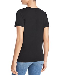 Three Dots - Colette Jersey V-Neck Tee