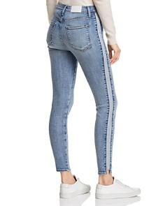 Pistola - High-Rise Tuxedo Stripe Skinny Jeans in Vice Versa