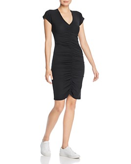 ATM Anthony Thomas Melillo - Ruched T-Shirt Dress
