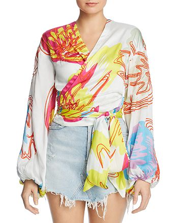 All Things Mochi - Kylie Wrap Top