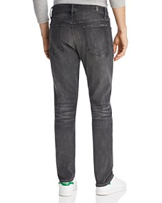 7 For All Mankind - Adrien Slim Fit Jeans in Authentic Vicious Grey