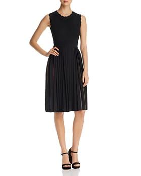 4f4e30e7b5c kate spade new york - Pleated Knit Dress ...