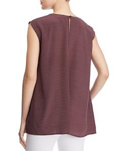 Eileen Fisher - Cap Sleeve Silk Tunic