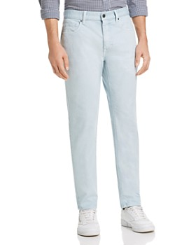 Z Zegna - Garment-Dyed Stretch Cotton Straight Fit Jeans
