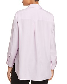 Eileen Fisher Plus - Silk Button-Down Blouse