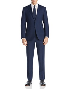 Canali - Tonal Prince of Wales Plaid Siena Regular Fit Suit