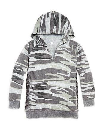Vintage Havana - Girls' Camouflage Hoodie Sweatshirt - Big Kid
