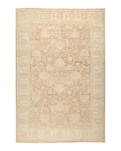 """Solo Rugs - Oushak Collection Huni Area Rug, 6'8"""" x 10'"""