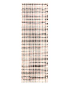 Burberry - Vintage Metallic Check Gauze Scarf