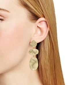 AQUA - Triple Drop Earrings