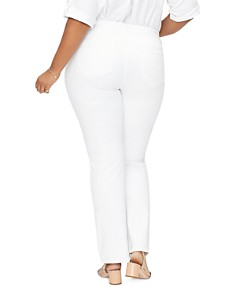 NYDJ Plus - Barbara Bootcut Jeans in Optic White