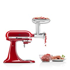KitchenAid - Metal Food Grinder Attachment - #KSMMGA