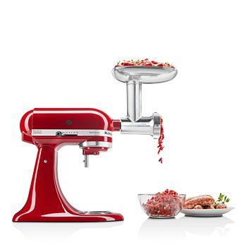 KitchenAid - Metal Food Grinder Attachment - #KSMMGA