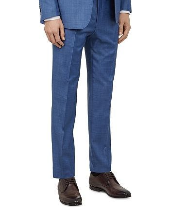 Ted Baker - Kernalt Debonair Sharkskin Slim Fit Trousers