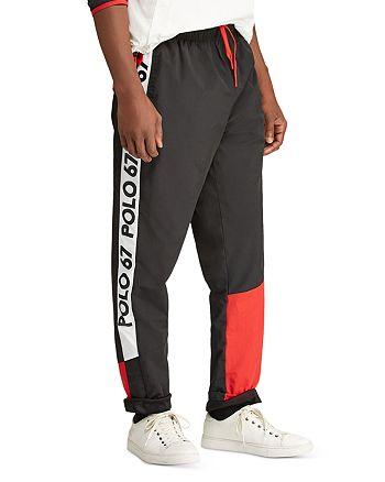 Performance Track Color Pants Ralph Lauren P Polo Block Wing O8nPk0wZNX