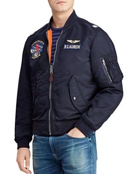 83aae0455 Polo Ralph Lauren - Reversible Twill Bomber Jacket ...