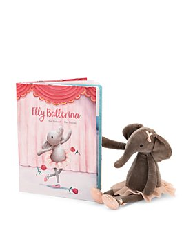 Jellycat - Elly Ballerina Book - Ages 0+