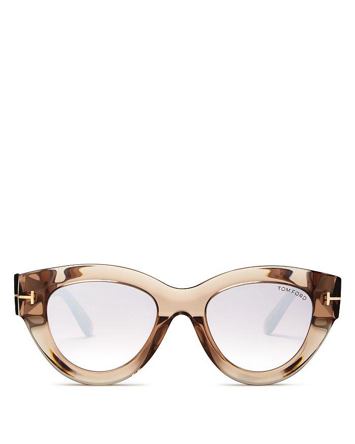 4c00d7f222 Tom Ford - Slater Mirrored Cat Eye Sunglasses