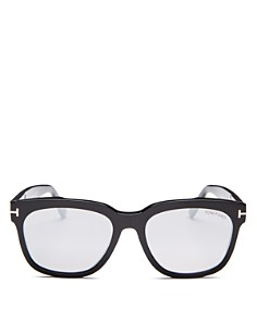 Tom Ford - Women's Mirrored Square Sunglasses, 55mm