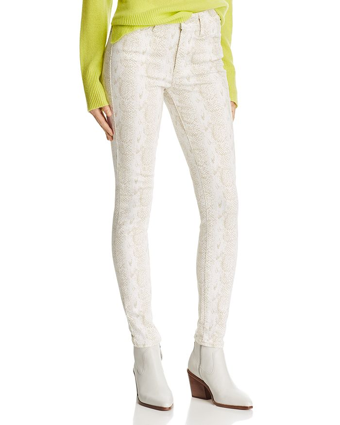 PAIGE - Hoxton Ultra Skinny Jeans in Sonoran Snake