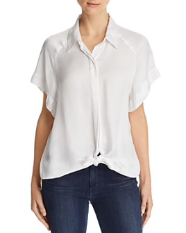 7 For All Mankind - Tie-Front Shirt