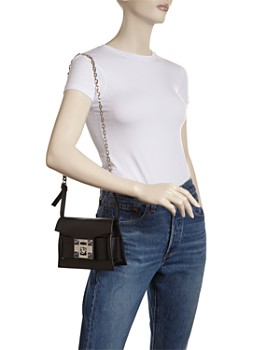 Salar - Gaia Chain Leather Shoulder Bag