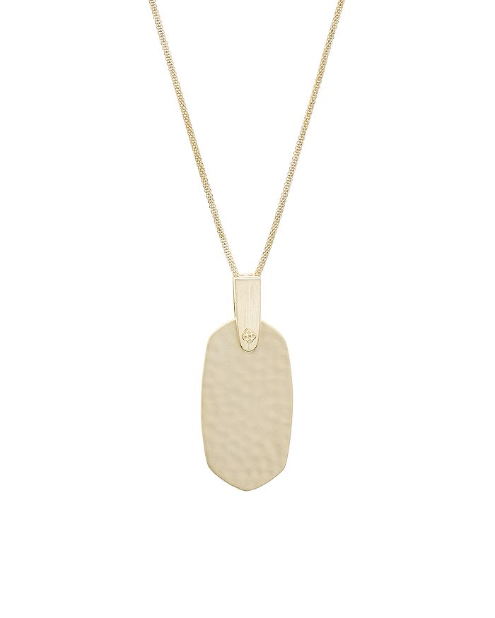 Kendra Scott - Inez Metal Pendant Necklace, 30""