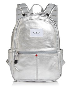 STATE - Downtown Kane Mini Metallic Backpack