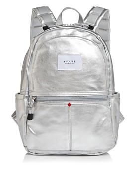 STATE - Downtown Kane Mini Metallic Backpack