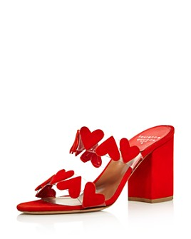 Laurence Dacade - Women's Tara Heart Block Heel Sandals