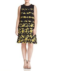 MICHAEL Michael Kors Plus - Floral Banded Dress