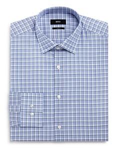 BOSS - Overcheck Slim Fit Dress Shirt