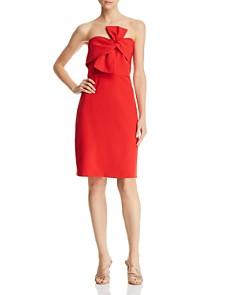 Sam Edelman - Strapless Bow-Detail Dress