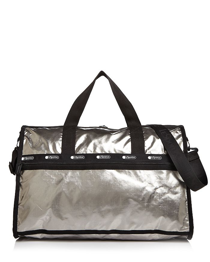 LeSportsac - Large Rebecca Metallic Nylon Weekender Duffel Bag
