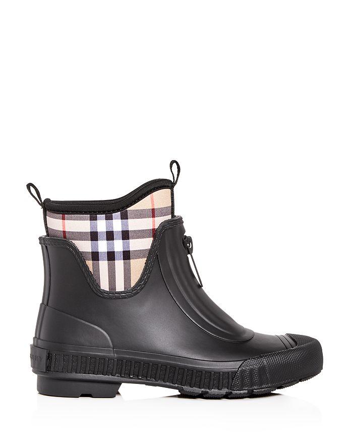 2d937cd6826 Burberry - Women s Flinton Check Rain Booties